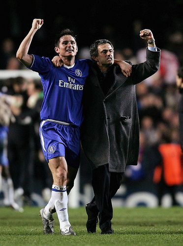 mourinho lampard Jose Mourinho Advised Frank Lampard Not to Play In MLS