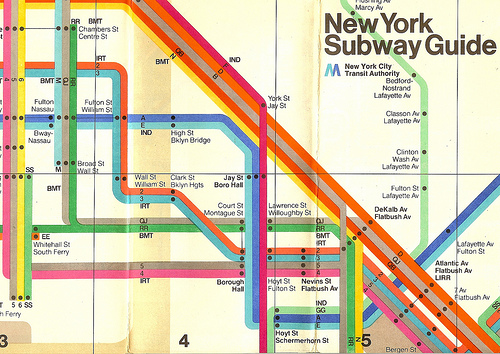 new york subway guide NBC Advertises Premier League Rivalries On New York City Subway [PHOTOS]
