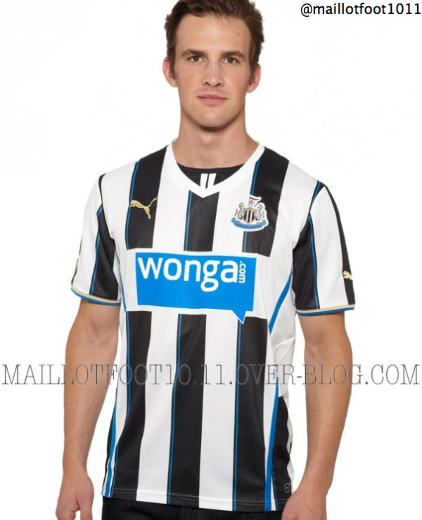Newcastle United Home Shirt for 2013 14 Season: Brand New Leaked [PHOTOS]