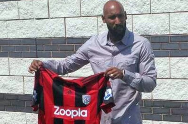 nicolas anelka 600x398 New Signing Nicolas Anelka Wants to End His Career at West Brom: Daily Soccer Report