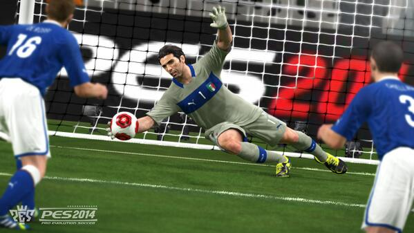 pes 2014 buffon New PES 2014 Videos Showcase Attacking Controls, Ball Control and Changes to Master League [VIDEOS]