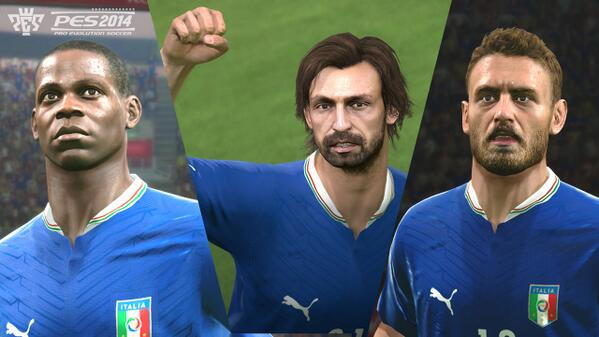 pes 2014 italy group PES 2014: New Screenshots Released [PHOTOS]