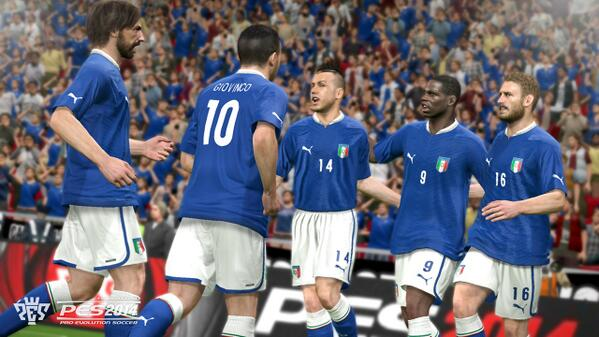 pes 2014 italy PES 2014: New Screenshots Released [PHOTOS]