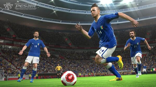 pes 2014 new 2 PES 2014: New Screenshots Released [PHOTOS]