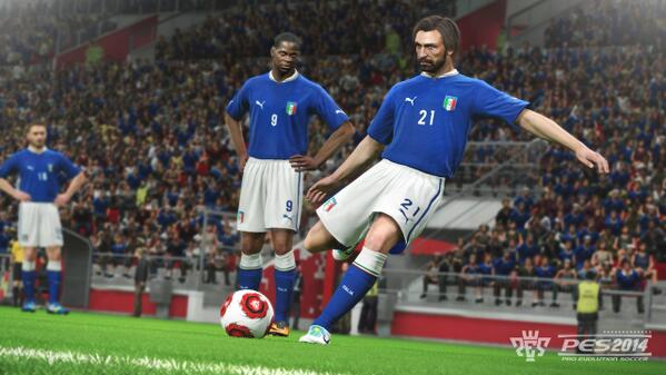 pirlo pes 2014 PES 2014: Sneak Peek of Master League, Featuring First 20 Minutes [VIDEO]