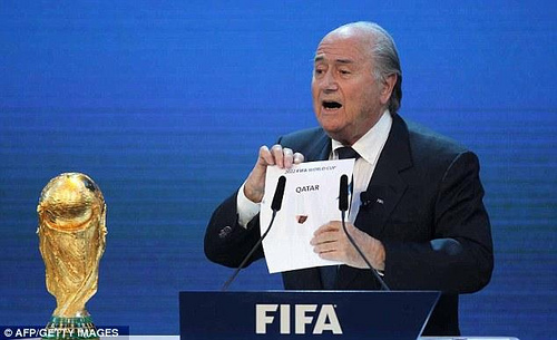 qatar fifa A Winter 2022 World Cup Is Bad News For Other Sports, Not Just Soccer