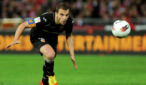 roberto soldado1 Tottenham Agree £26m Deal to Sign Valencia Striker Roberto Soldado: Nightly Soccer Report