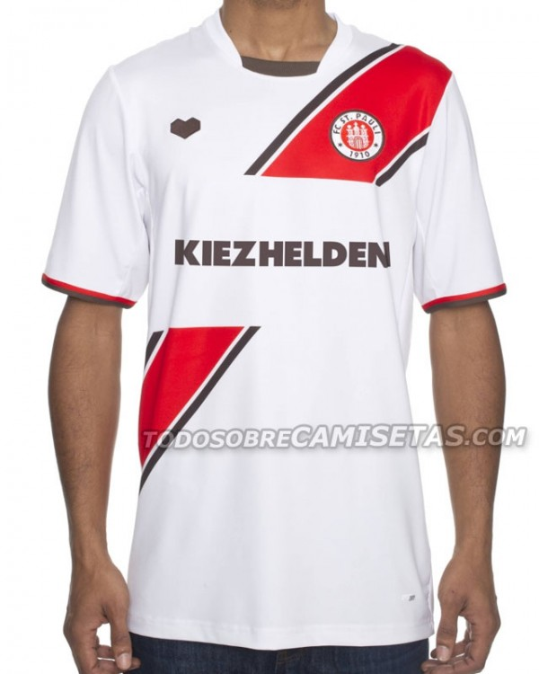 st pauli away shirt 600x750 St Pauli Home, Away and Third Shirts for 2013 14 Season: Leaked [PHOTOS]