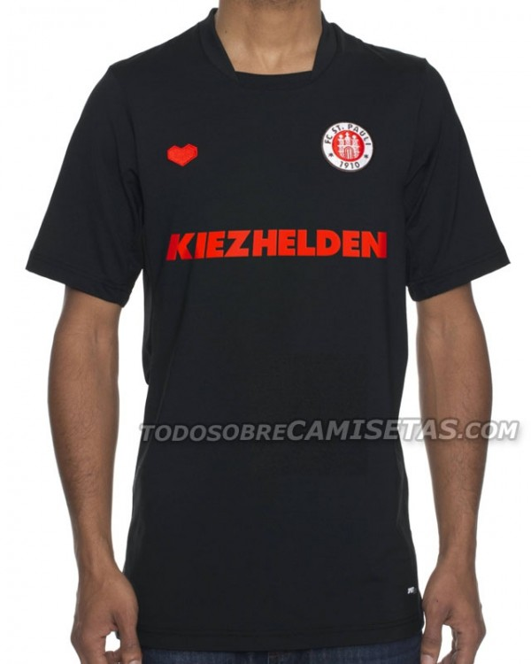 st pauli third shirt 600x750 St Pauli Home, Away and Third Shirts for 2013 14 Season: Leaked [PHOTOS]