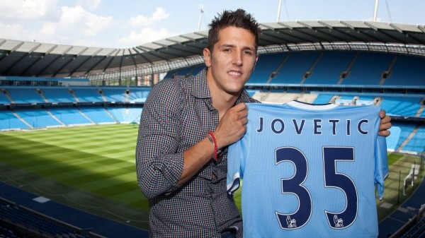 stevan jovetic city 600x337 Stevan Jovetic Signs for Manchester City: Official [PHOTOS]