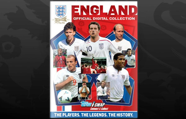 topps virtual england sticker album Topps Launch New Virtual Sticker Album Featuring Legendary England Footballers