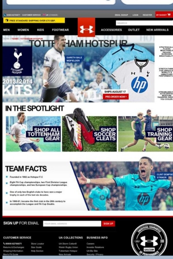 Tottenham Hotspur Home and Away Shirts for 2013 14 Season: New Leaked [PHOTOS]