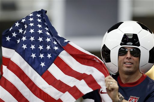 usa soccer fan Wide Awake In America