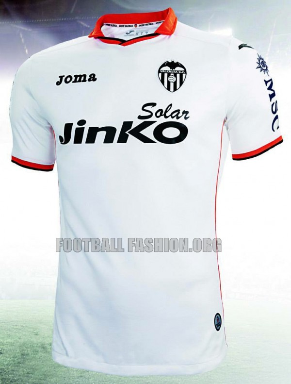 valencia home shirt front 600x791 Valencia Home and Away Shirts for 2013 14 Season [PHOTOS]