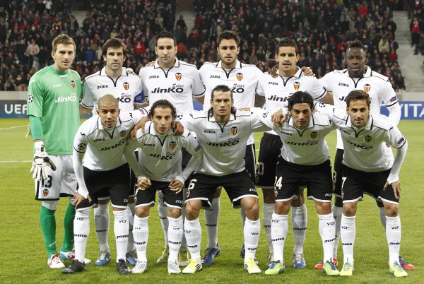valencia team1 600x402 Squads Announced For 2013 International Champions Cup For July 27 August 7