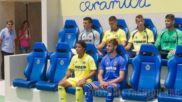 villarreal home away shirts seats 600x337 Villarreal Home and Away Shirts for 2013 14 Season: [PHOTOS] & [VIDEO]