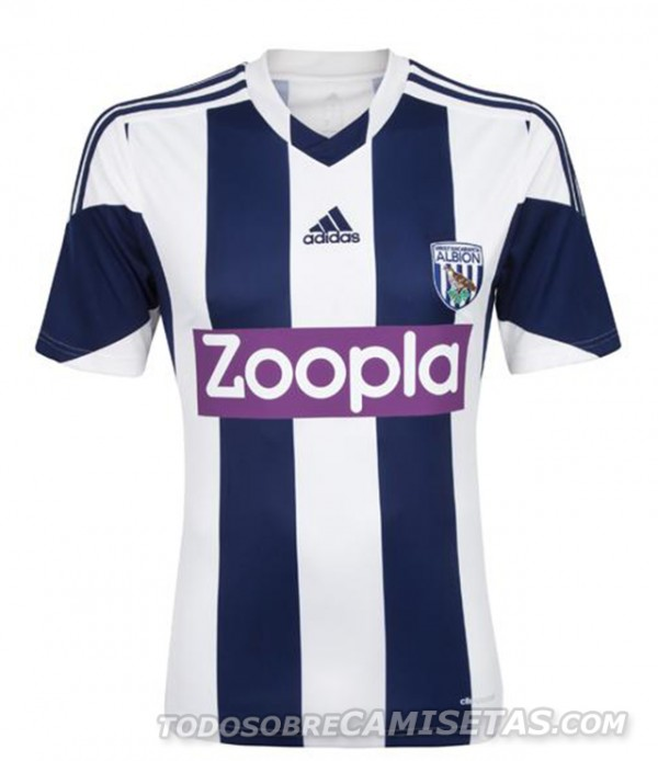 west brom home shirt front 600x694 West Bromwich Albion Home Shirt for 2013 14 Season [PHOTOS]