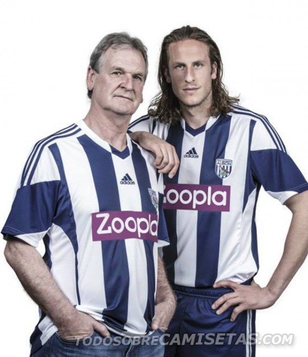 west brom home shirt legend 3 600x694 West Bromwich Albion Home Shirt for 2013 14 Season [PHOTOS]
