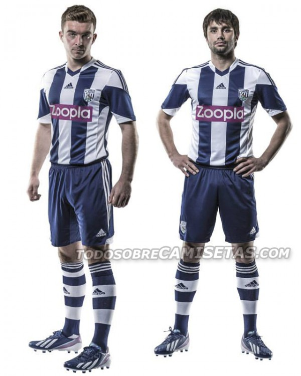west brom home shirt players 600x750 West Bromwich Albion Home Shirt for 2013 14 Season [PHOTOS]