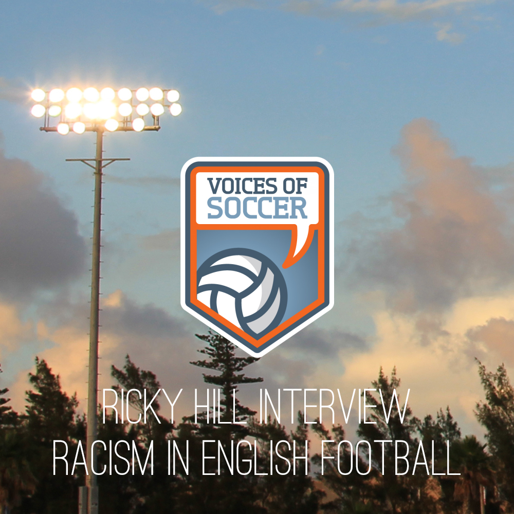 Interview With Ricky Hill, Former Luton Town and England Striker (Voices Of Soccer)