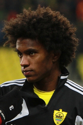 Willian Tottenham On Verge of Signing Willian As Brazilian Winger Arrives In London for Medical