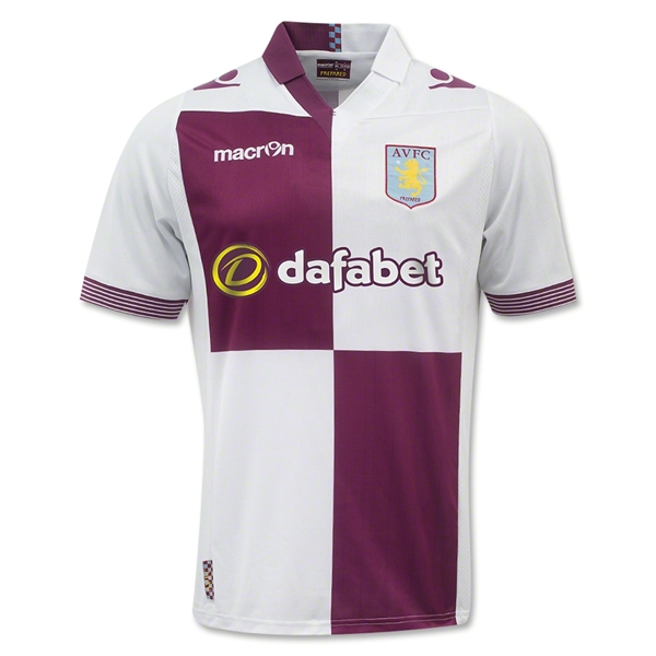 aston villa away shirt Get 15% Off Your Order of Premier League Shirts: This Weekend Only