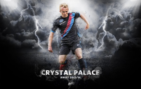 Crystal Palace Home and Away Shirts for the 2013 14 Season [PHOTOS]