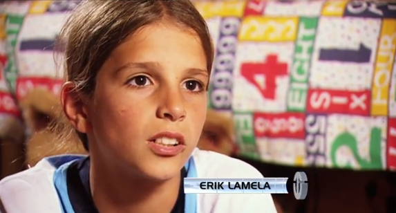 erik lamela An Interview With Erik Lamela When He Was 12 Years Old [VIDEO]