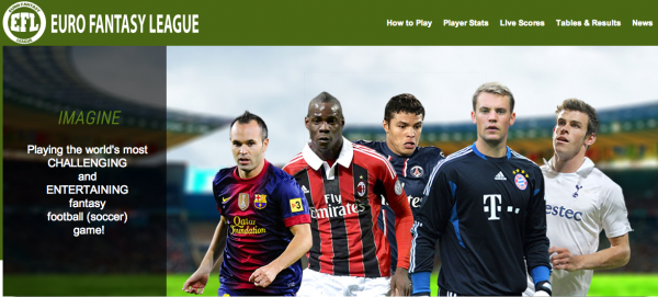 euro fantasy league 600x271 Play Euro Fantasy League: A New Soccer Game With A Twist