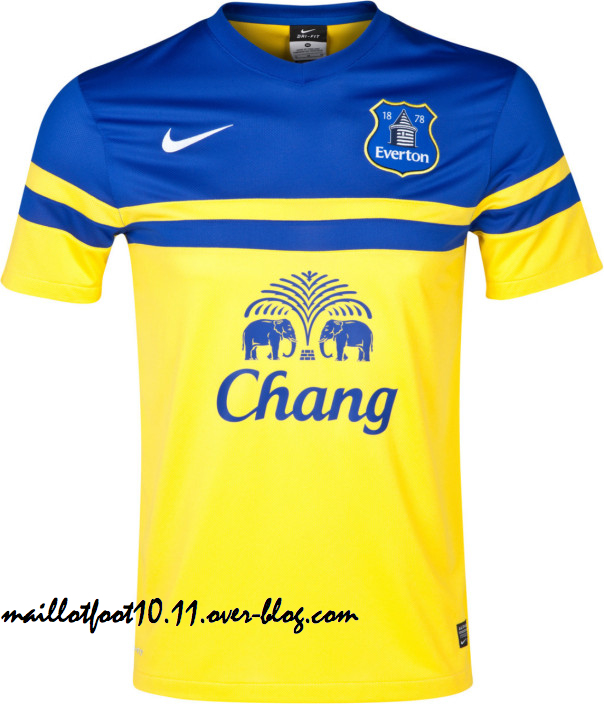 Everton Launch Away Shirt for the 2013 14 Season: Official [PHOTOS]