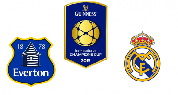 everton real madrid 600x322 Everton vs Real Madrid, International Champions Cup: Open Thread