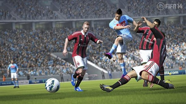 fifa 14 screenshot 600x337 New FIFA 14 Video Showcases Improved Shooting and Better Ball Trajectories [VIDEO]
