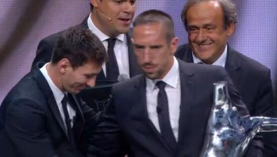 franck ribery Franck Ribery Wins UEFA Best Player in Europe Award
