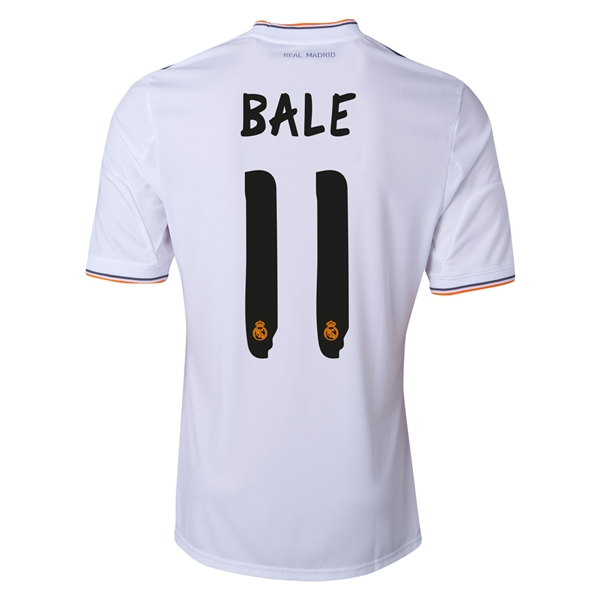gareth bale real madrid shirt Gareth Bale Official Real Madrid Shirts Now Available