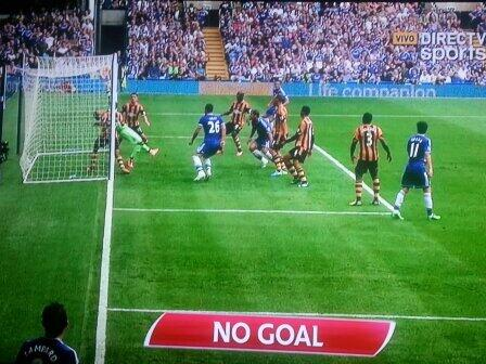 goal line technology chelsea Replay of Premier Leagues First Genuine Goal Line Technology Decision [VIDEO]