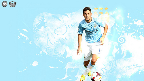 jesus navas Jesus Navas is a Game Changer for Manchester City in His Debut Premier League Appearance
