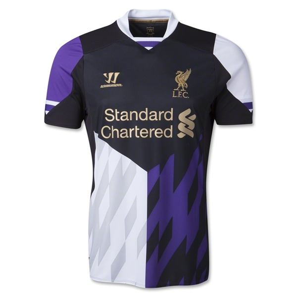 liverpool third shirt2 Get 20% Off Your Order of Soccer Shirts This Weekend Only; World Soccer Shop Promo Code