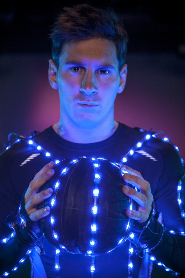 messi closeup 600x900 Watch Leo Messi In The New Speed Of Light Film [VIDEO]