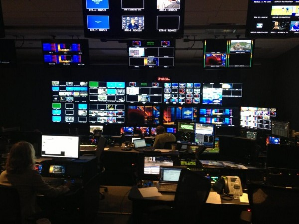 nbc control room 600x450 A Sneak Peek Inside NBCs New HQ For Their EPL Coverage [PHOTOS]