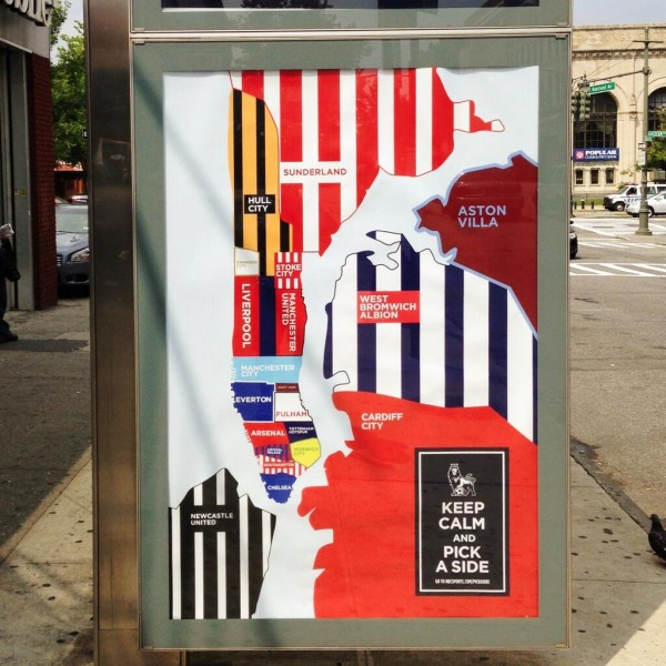 nbc nyc boroughs epl 600x600 NBC Poster Campaign: EPL Teams As New York City Boroughs & Neighborhoods [PHOTO]