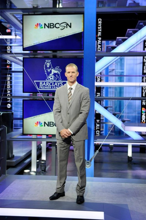nbc premier league robbie mustoe 600x900 Behind the Scenes of NBCs Premier League Set [PHOTOS]