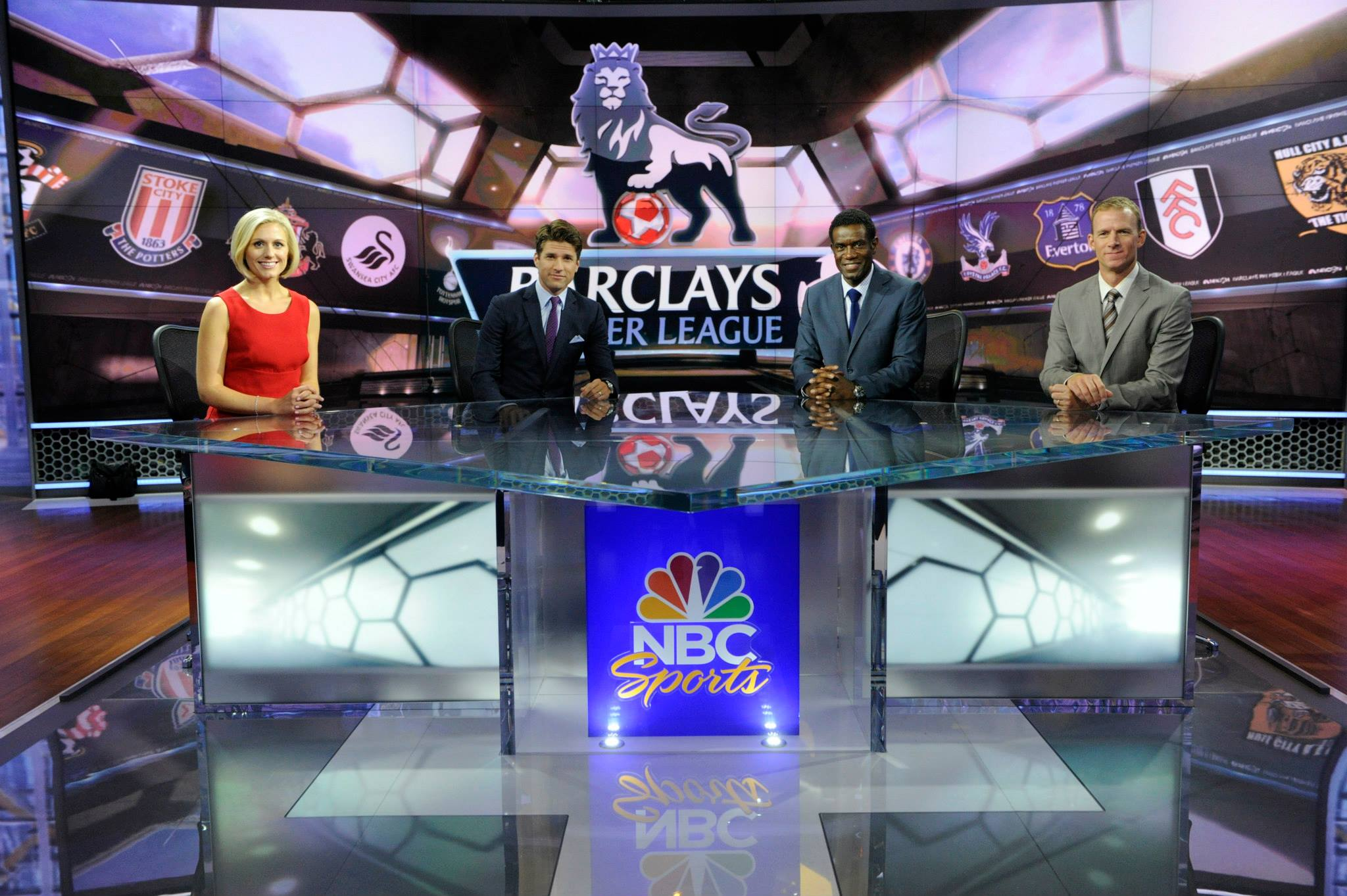 NBC Sports raises the bar by sending broadcast team to England for Premier League TV coverage