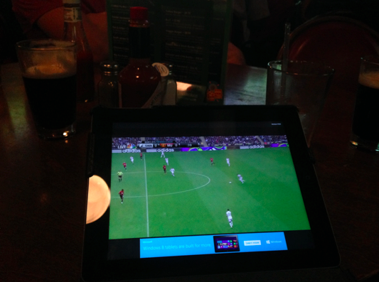 nbc sports live extra app ipad pub Watching Premier League Soccer On NBC Sports Live Extra App for iOS: Review
