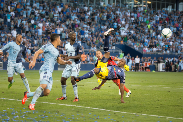 new york red bulls sporting kc Sporting Kansas City 2 3 New York Red Bulls: Match Highlights [VIDEO]