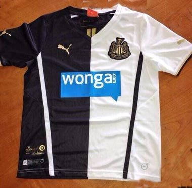 newcastle united special shirt Newcastle United Unveil New Members Only Fourth Kit for 2013 14 Season [PHOTOS]