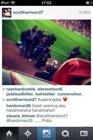 phil bardsley instagram 300x450 Sunderland's Phil Bardsley Laughs On Instagram At Defeat Against Fulham: Daily Soccer Report