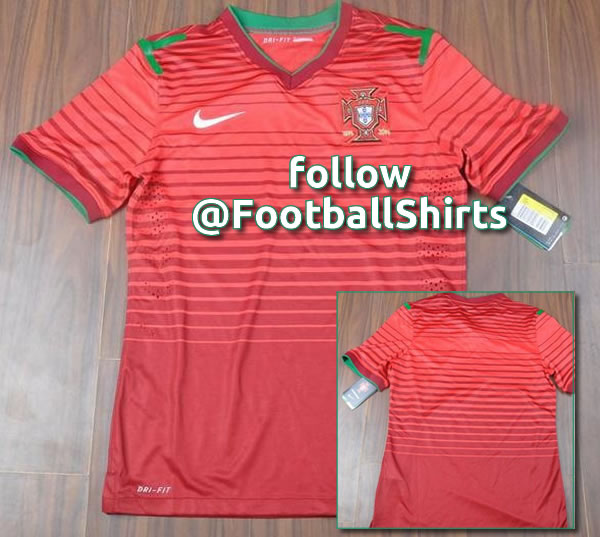 portugal home shirt world cup 2014 Is This Portugals New Home Shirt for World Cup 2014? [PHOTO]