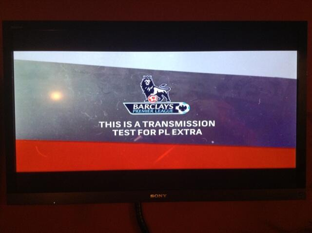 premier league extra time transmission test Test Card Spotted In The Wild for NBCs Premier League Extra Time [PHOTO]