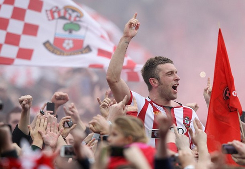 rickie lambert Rickie Lambert In Talks to Join Liverpool From Southampton For £9million
