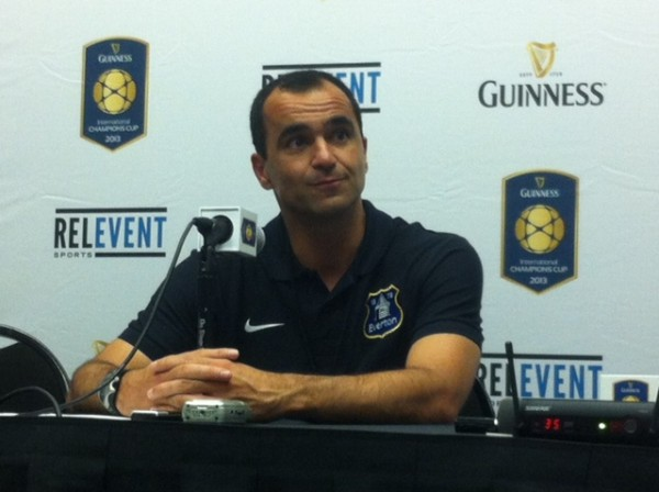 roberto martinez 600x448 Everton Need to Add Depth In Transfer Window Despite Current Good Form